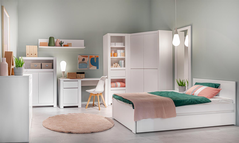 Sypialnia z biurkiem