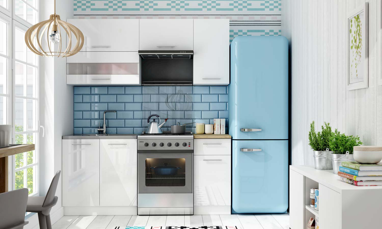 Kolor ścian w kuchni do białych mebli