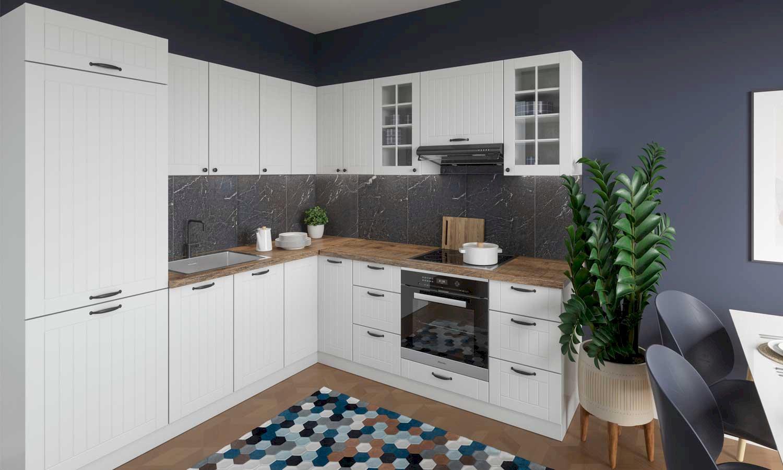 Mały salon z kuchnią