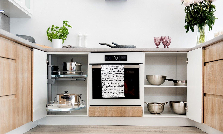 kuchnia w kształcie litery G Livia