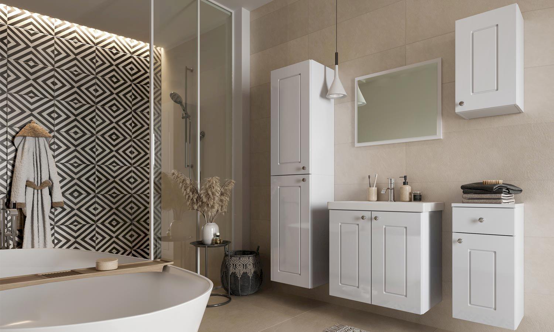 Verona biała (łazienka)