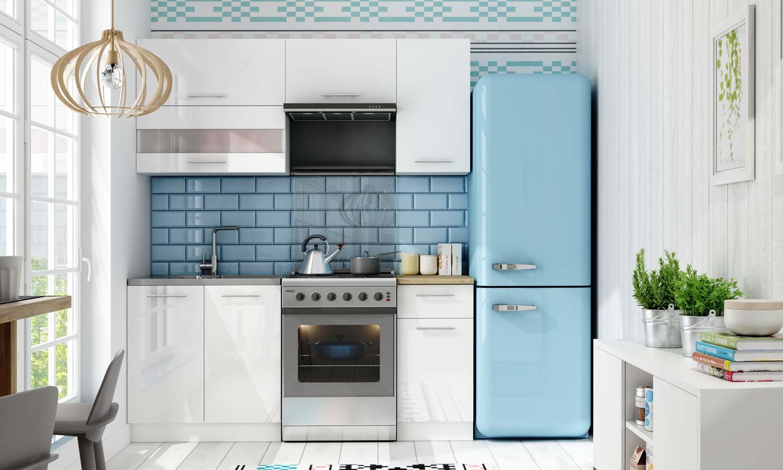 jak zaprojektować kuchnię - kuchnia Tiffany