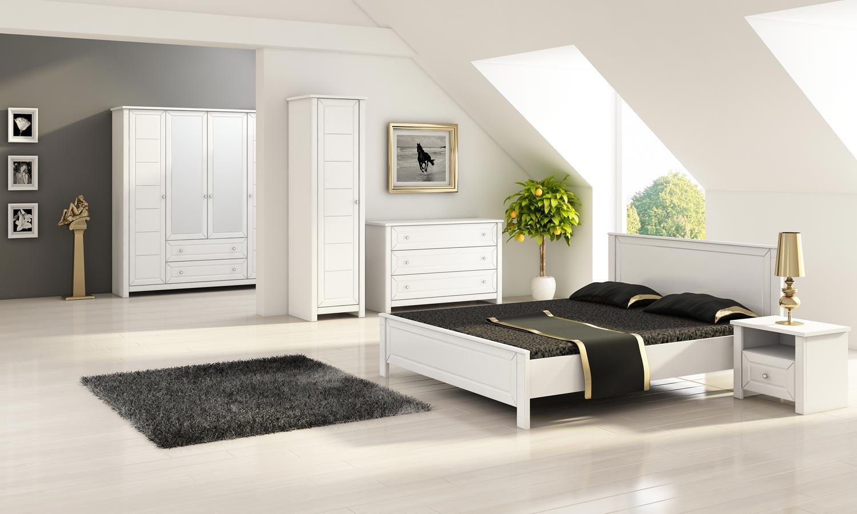 Łóżko do małej sypialni LUNA