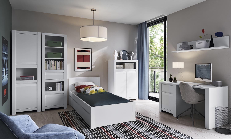 sypialnia z biurkiem NOVI