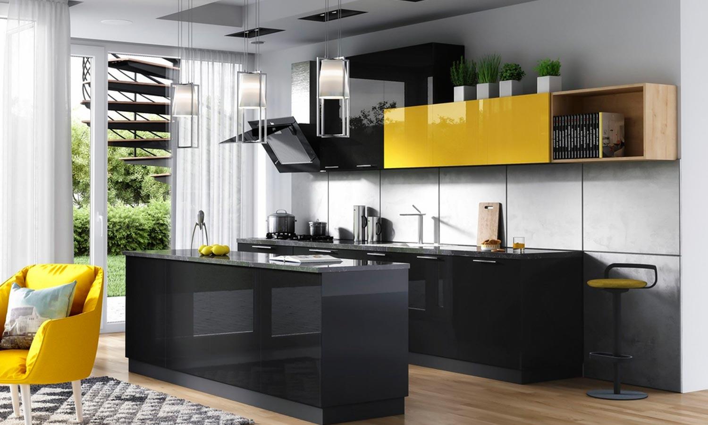 jak zaprojektować kuchnię z wyspą - Navia