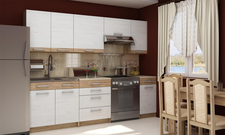 Kuchnie Biało Drewniane Internetowy Sklep Meblowy Gama