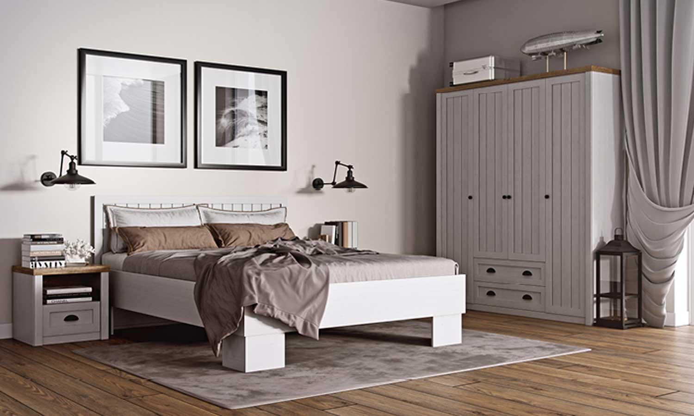 Łóżko do małej sypialni PROWANSJA