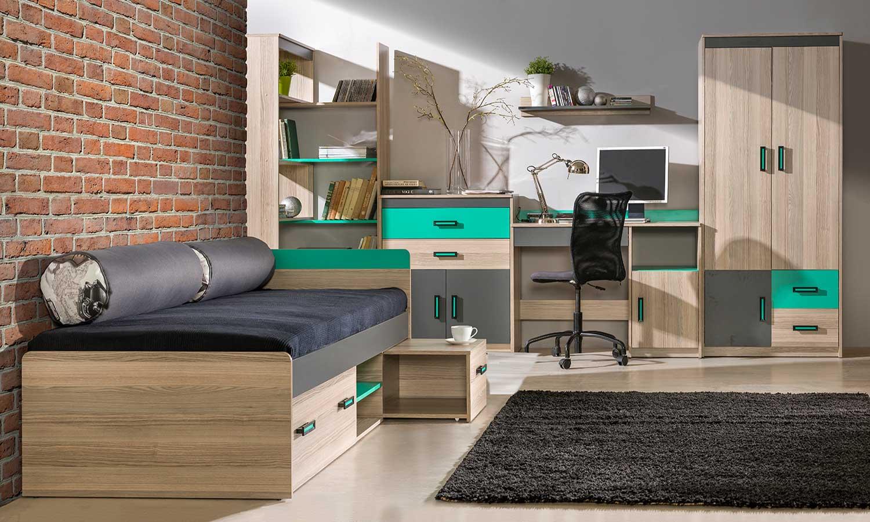 sypialnia z biurkiem ULTIMO
