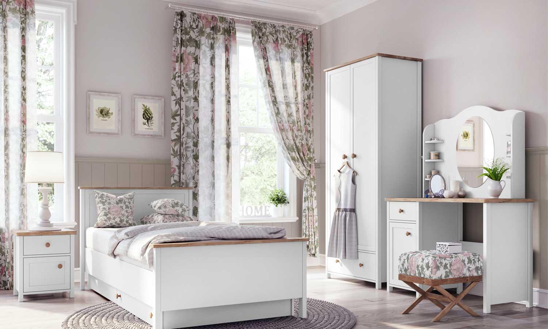 sypialnia z biurkiem STORY
