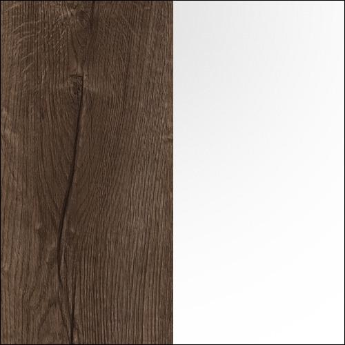 Dąb Szlachetny + Biały Połysk (N40)