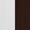 Sosna barwiona na biel + Brąz struktura