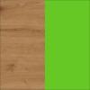 Dąb Artisan + Zielony