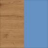 Dąb Artisan + Niebieski