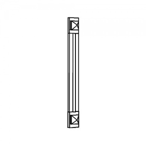 Pilaster 1 mb