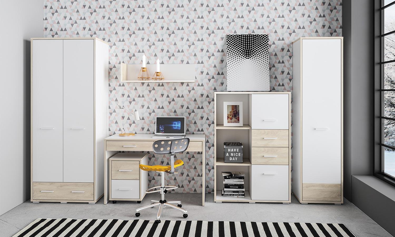 Pokój młodzieżowy w stylu skandynawskim